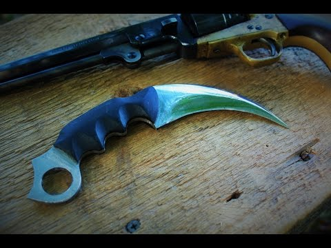 Making A KARAMBIT With Common Power Tools