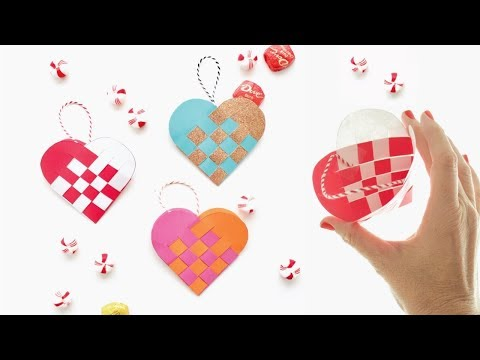 How to Make  Danish Heart Baskets