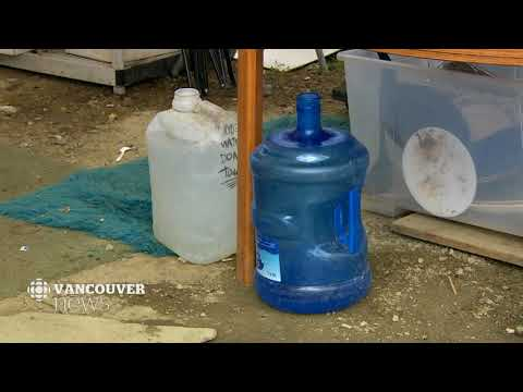 CBC News at 6: City of Vancouver provides tent city with running water, more toilets