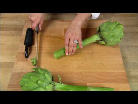 How to Cook Long-Stem Artichokes