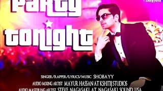 PARTY TONIGHT BY SHOBAYY