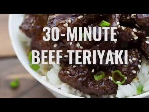 30-Minute Beef Teriyaki