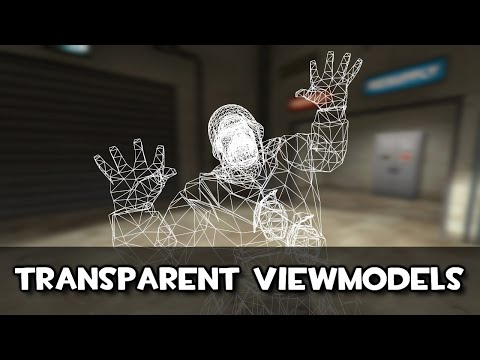 TF2: VIEWMODELS TRANSPARENTES - HOW TO (Eng Sub)