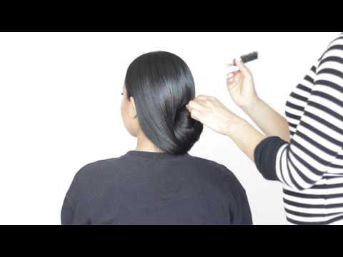 Jessica Biel Oscar hair tutorial