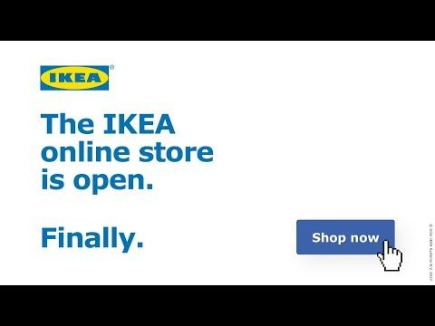 The IKEA online store is open. Finally.