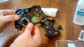 Xbox One Controller Disassembly Cleaningrepair