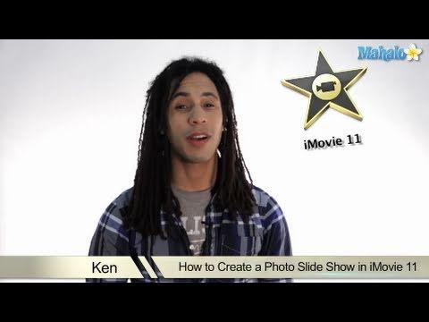 Learn iMovie 11 - How to Create a Photo Slideshow