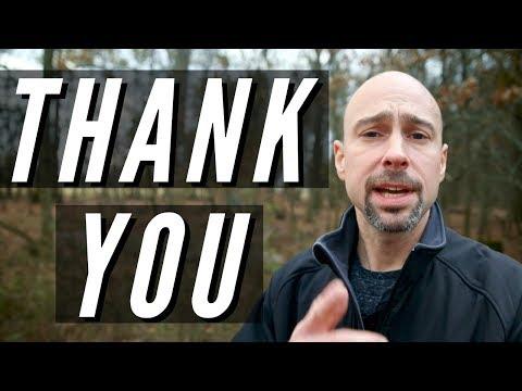 Thank You YouTube Community!