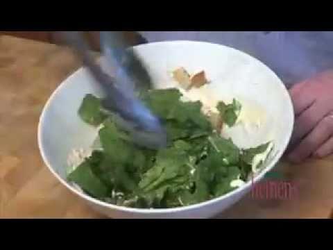 Salmon Caesar Salad with Parmesan Crisps