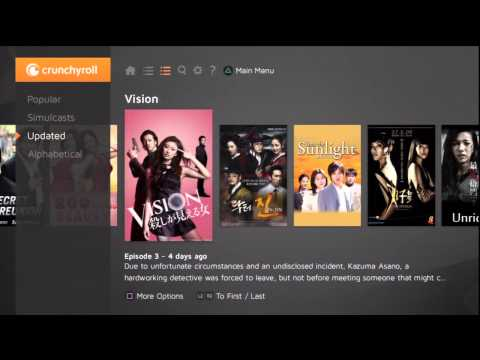 Crunchyroll App for PlayStation 3 Overview