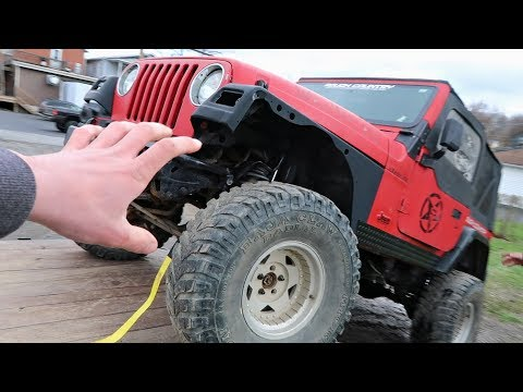 I BOUGHT A JEEP DEATHTRAP