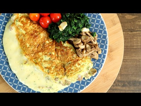 Mushroom And Cheese Omelette Recipe | Perfect Cheesy Omelette | The Bombay Chef - Varun Inamdar