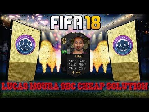 FIFA 18 Lucas Moura SBC Solution Cheap!!!