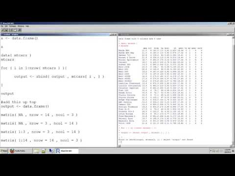 78 how to initiate empty objects like data tables and matrices in r