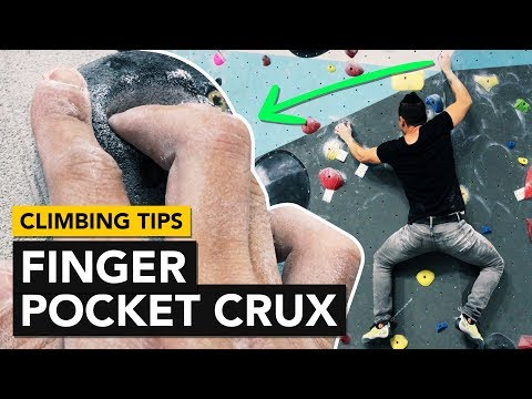 Rock Climbing Tips: Two Finger pockets on a slab wall analysis