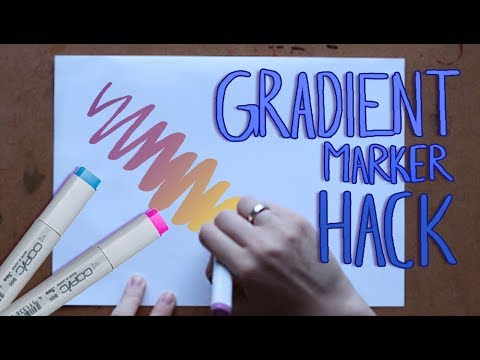 GRADIENT MARKER HACK!?