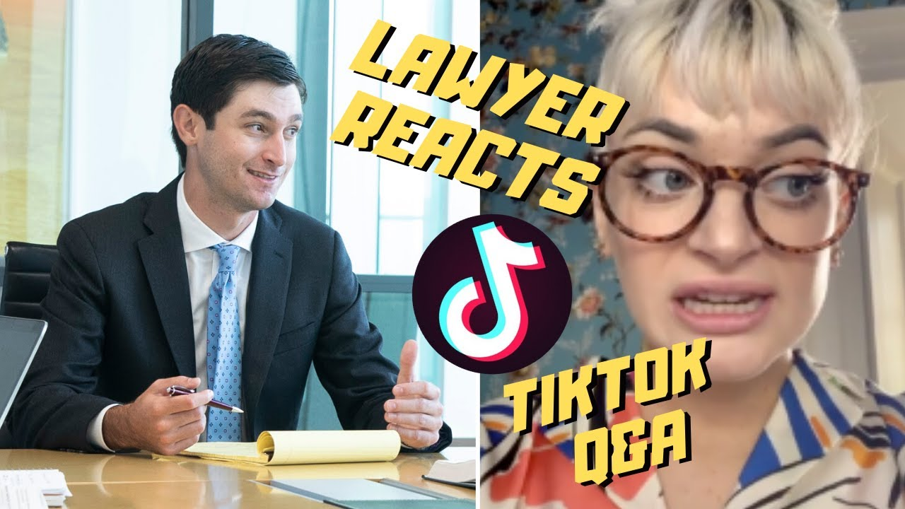 Real Lawyer Answers Legal Questions about TikToker's Prosthetic Limb | Lawyer Reacts
