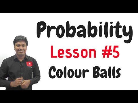Probability_Two Colour Balls#LESSON-5
