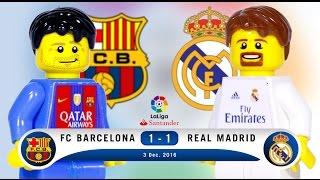 LEGO FC Barcelona 1 - 1 Real Madrid LaLiga 2016 / 2017