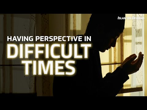 Having Perspective in Difficult Times - Ayden Zayn