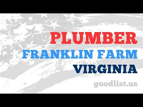 Licensed Plumber and Plumbing Contractors in Franklin Farm Virginia