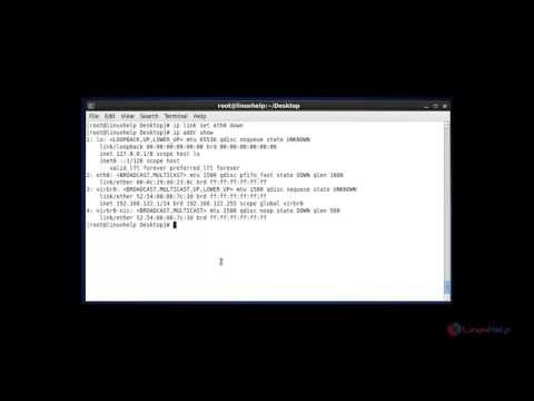IP Commands to Configure Network Interfaces