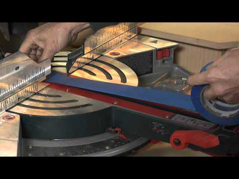 How to Make Precision Cuts on your Chop Saw