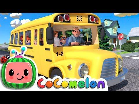 Wheels on the Bus | ABCkidTV Nursery Rhymes & Kids Songs