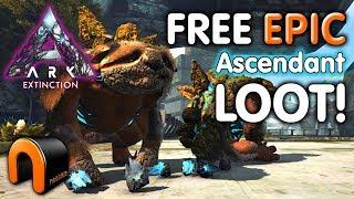 ark extinction gacha crafting skill Videos - 9tube tv