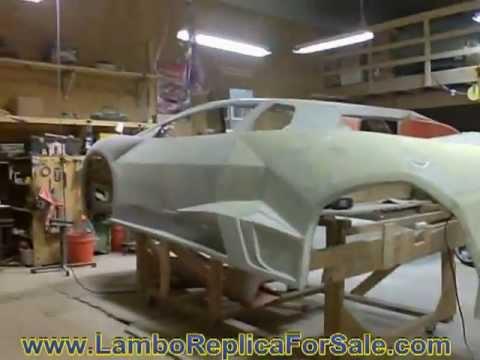 Lamborghini Reventon Replica Project Part 1. A Quick Kit Car Update Before Molding Process. Video A.