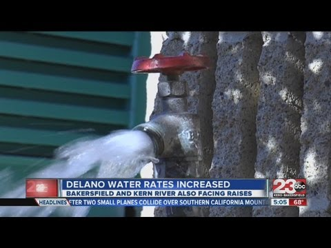 Delano water rates increased