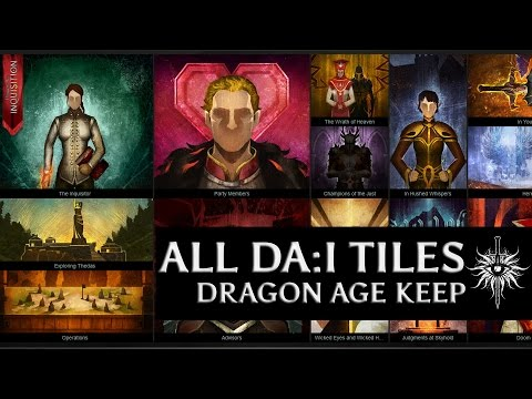 Dragon Age Keep - All Dragon Age Inquisition tiles (SPOILERS)