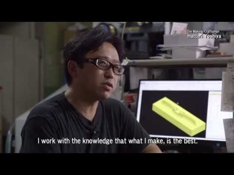 Fukui Sabae Glasses 4 - Craftsman, Die Making (Metal)