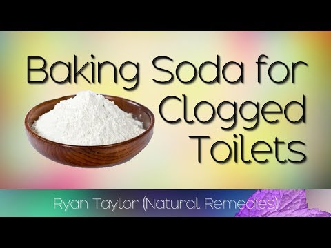 Baking Soda: for Clogged Toilet (Cleaning)