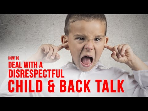 Stop Kids Talking Back With This One Easy Trick