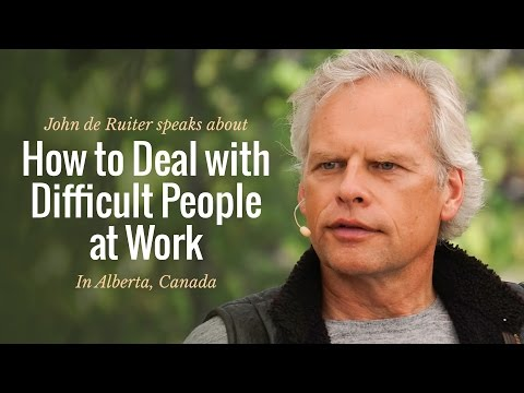 How to Deal with Difficult People at Work - Advice for Young Adults