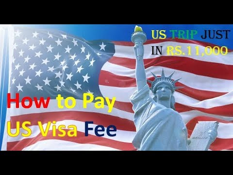 How to Pay US Tourist Visa Fee | Hindi Guide