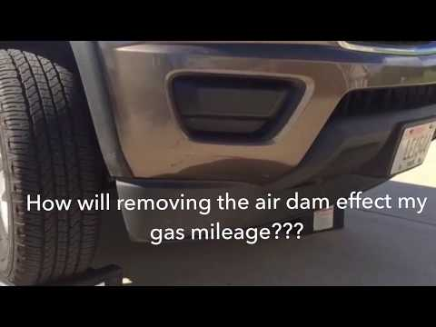 2nd Generation Chevy Colorado Gas Mileage Air Dam Removal Experiment, Part 2