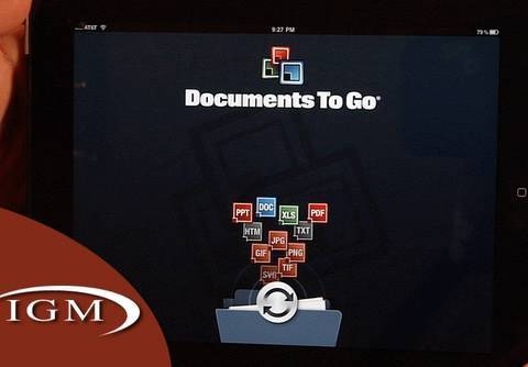 iWork Apps Missing Feature: Docs To Go 3.3 Adds Cloud Storage for iPhone, iPad (Review)
