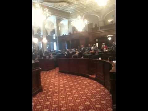 Illinois State Food Stamp Bill Debate