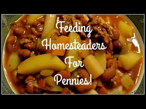 Feeding Homesteaders For Pennies~