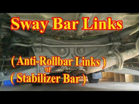 Rear Sway Bar Link Replacement DIY