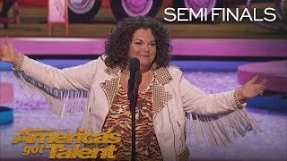 Vicki Barbolak: Comedian Delivers Tips On How To Pick Up Men - America