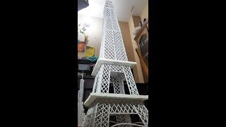 How to Make Paper Eiffel Tower | Easy Way to Make Origami Eiffel Tower