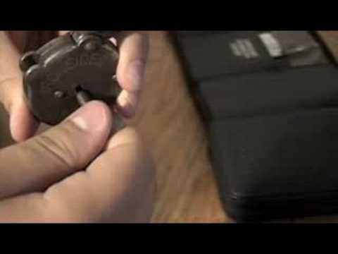 six lever padlock
