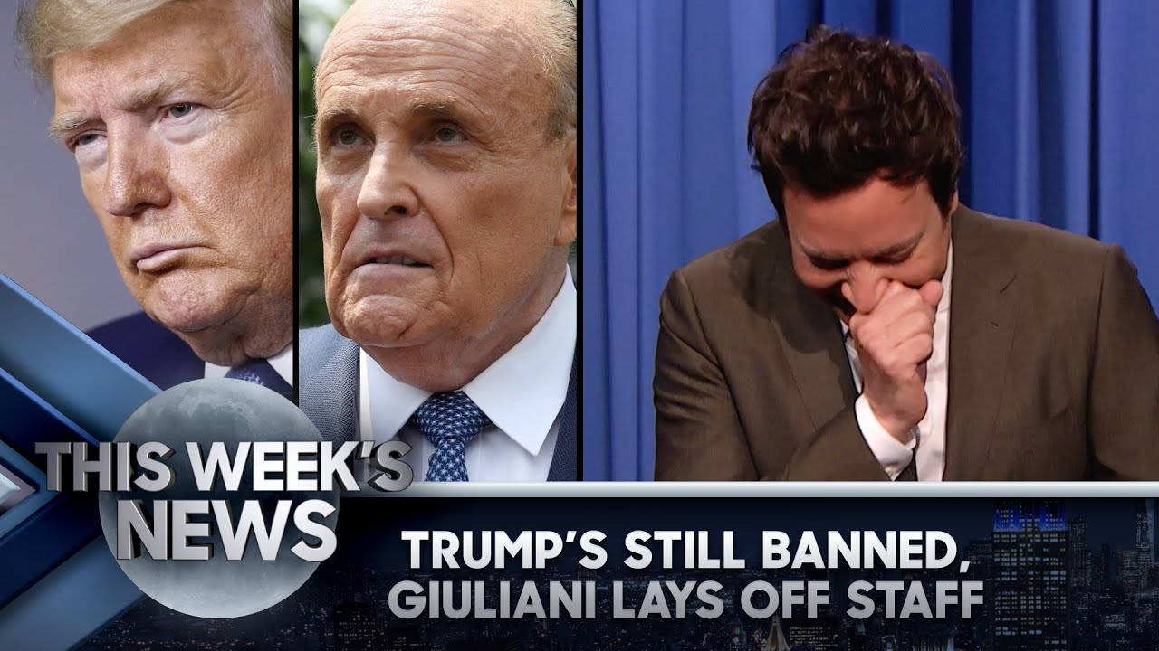 Trump's Still Banned from Facebook, Giuliani Lays Off Entourage: ThisWeek'sNews | The Tonight Show