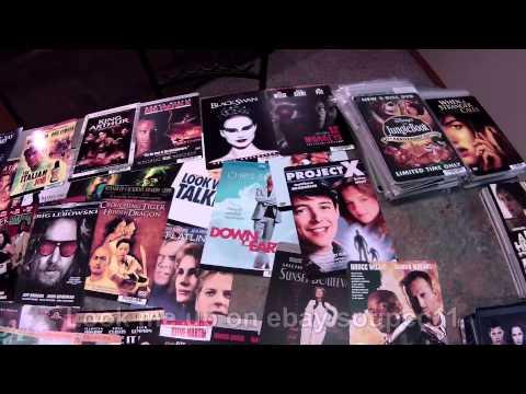 Blockbuster's Movie Backer Cards