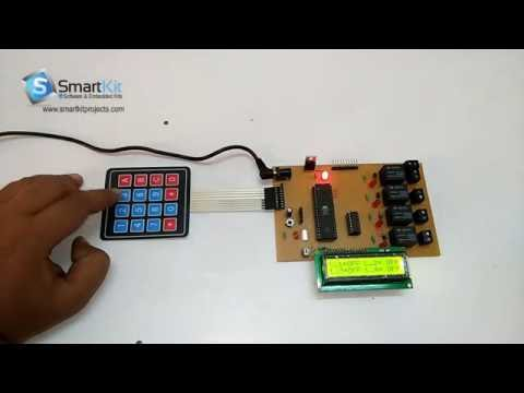 Password Based Load Control System using 8051 Based Microcontroller