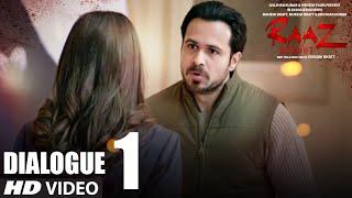 RAAZ REBOOT Dialogue Promo - Es Gher Me Kuch Hai | Emraan Hashmi, Kriti Kharbanda, Gaurav