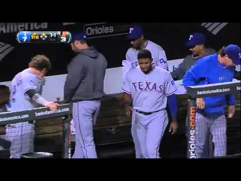 Darvish Farts, Clears Dugout